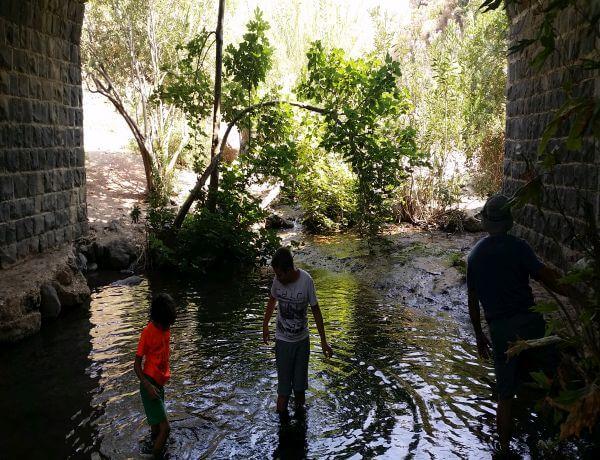 טיול ג'יפים בדרום רמת הגולן- גשר הסורי